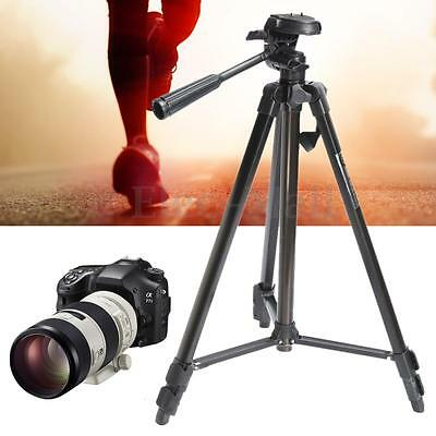 Professional Tripod Stand With Ball Head For Digital Camera DSLR Camcorder Black