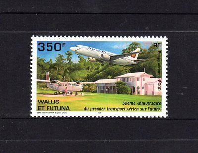 Wallis & Futuna 2000 Air Services MNH