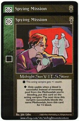 8 x Spying Mission VTES CCG Mixed
