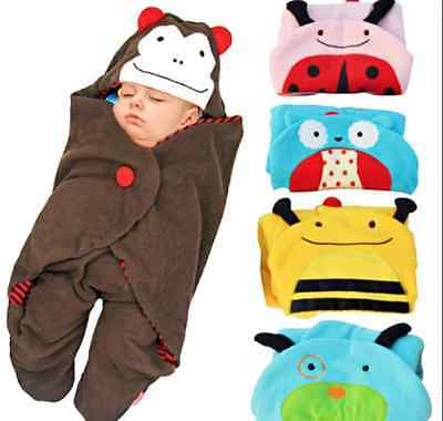 Baby Fleece Swaddle  / Wrap - Great for walking or Out and About in Winter B/NEW