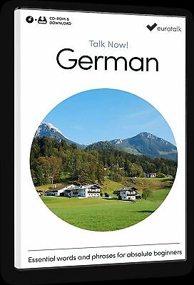 Eurotalk Talk Now German for Beginners - Download option and CD ROM