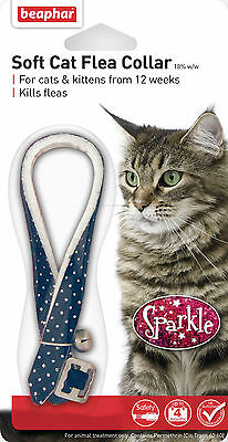 2x Beaphar Cat Flea Collar Sparkle