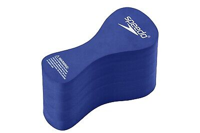 Speedo Team Swim Swimming Foam Pull Buoy Float Safety Training Exercise Aid Blue