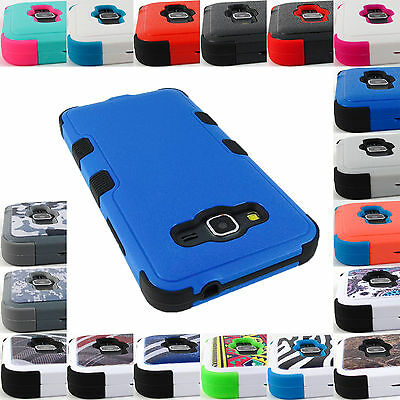 For Samsung Galaxy Phones Shock Proof Tuff Rugged Case Heavy Duty Cover+Stylus