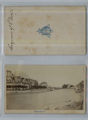 CDV Slection Grenoble Vintage Albumen Carte De Visite Tirage Albumin