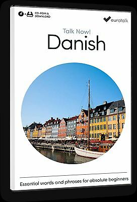 Eurotalk Talk Now Danish for Beginners - Download option and CD ROM