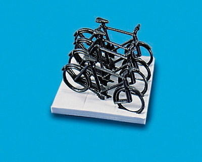 Model Scene Oo/ho Accessories 5055 Cycles & Stand Ms5055