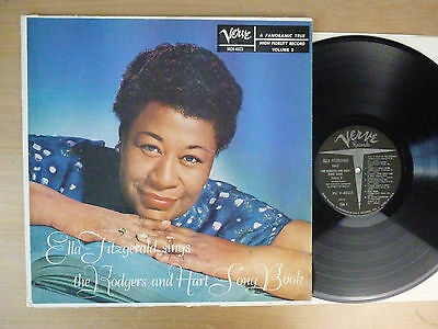 Ella Fitzgerald – Sings The Rodgers And Hart Song Book, Vinyl, USA '59, vg+