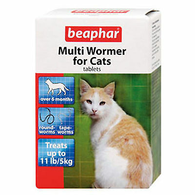 Beaphar Multiwormer For Cats 12 Tablets