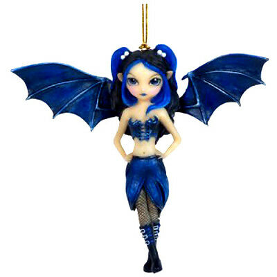 BAT WINGS FAERIE Fairy Ornament Jasmine Becket-Griffith Strangeling goth faery