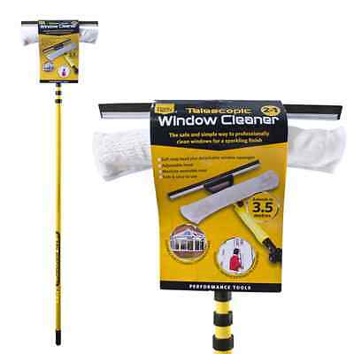 3.5M Telescopic Conservatory Window Large Cleaning Cleaner Kit With Squeegee
