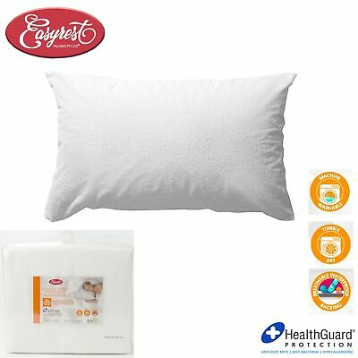 100% Cotton Terry Waterproof HealthGuard Standard Pillow Protector by Easyrest