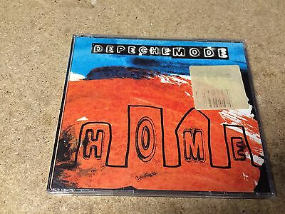 * Rare Music Cd Single * Depeche Mode - Home * Orange / Blue Sleeve *