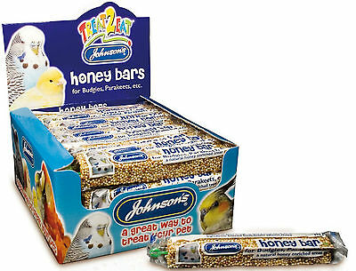 Johnson's Honey Bar / Budgie & Parakeet