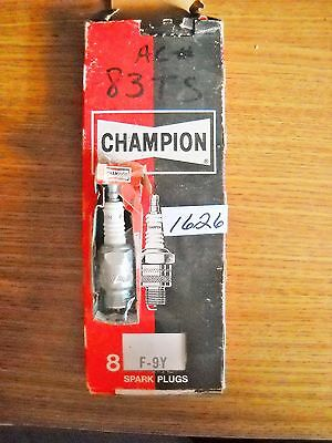 Champion F-9Y spark plugs 1966-70 Lincoln 1970-74 Ford Mercury box of 8