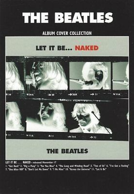 The Beatles - Let It Be... - Album Cover Collection Postcard - Postkarte, NEU