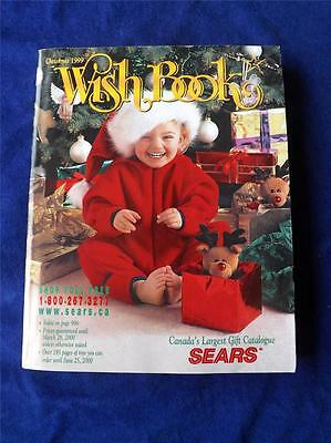 Sears Canada Vintage Catalogue Catalog Christmas Wish Book 1999 Toys Gifts