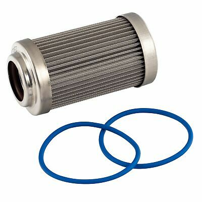 Fuelab Replacement Fuel Filter Element 40 Micron Stainless Steel   718xx Series