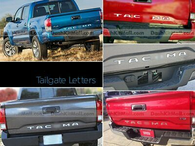 DKMCHROME REAR TAILGATE LETTERS FOR F-150 PLATINUM 2018 NOT DECALS