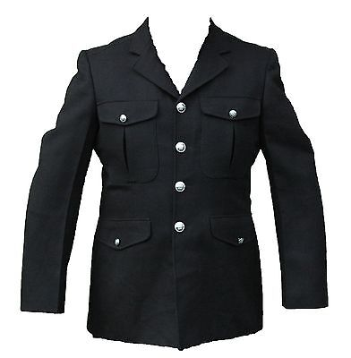 Genuine Ex Police Dress Tunic Jacket Ideal For Theatre Fancy Dress Collector