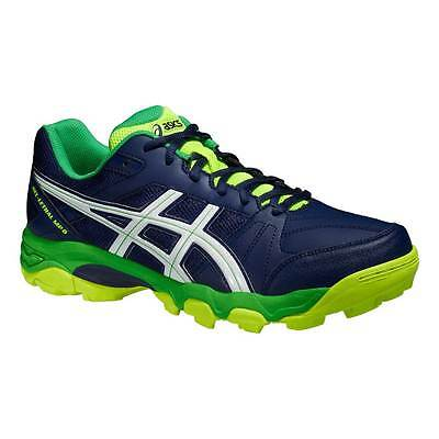 Asics Gel-Lethal MP 6 Mens Hockey Shoes Indigo Blue/White/Flash Yellow 2015