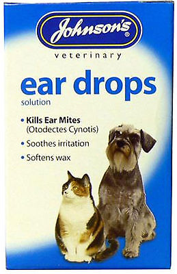 Johnson's Veterinary Products Ear Drops