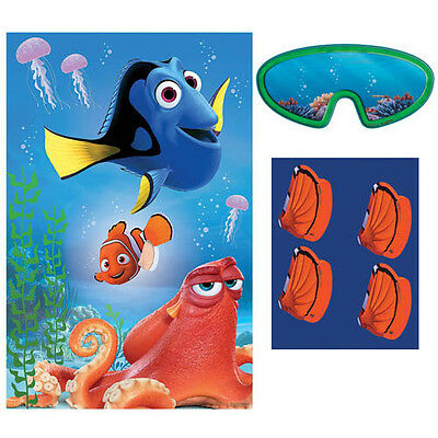FINDING DORY PARTY GAME POSTER ~ Birthday Supplies Decorations Activities Disney