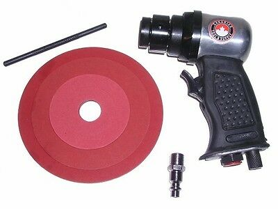 """NEW 5"""" High Speed Air Sander with Comfort Grip tool grinder auto body pneumatic"""