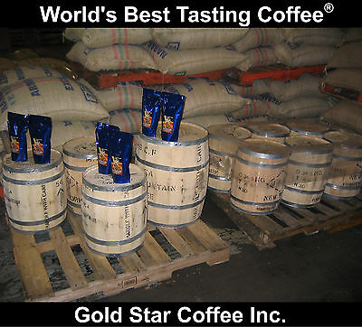 10 lbs - 100% Jamaica Blue Mountain Coffee Green Beans - For Home Roasting
