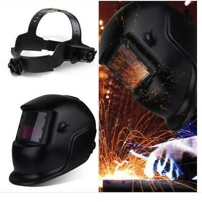 New Pro Solar Auto Darkening Welding Helmet Grinding Welder Mask Fashion Black
