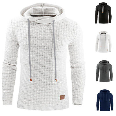 INCERUN Men's Hoodie Hooded Sweatshirt Coat Jacket Outwear Sweater Jumper Tops