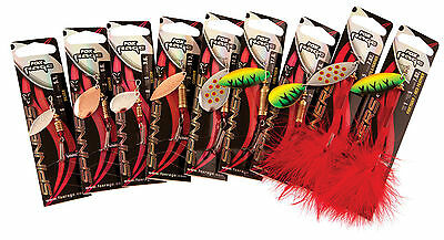 Fox Rage Spinners leaf Blade Size 5- 17.6g Hook 1 For Pike and Perch Fishing