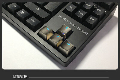 UQ Mechanical Keyboard Transparent Up Down Left Right KLids Pearl For Cherry MX