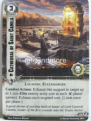 Warhammer 40000 Conquest LCG Rapid Assault  #107 Wrath of the Crusaders