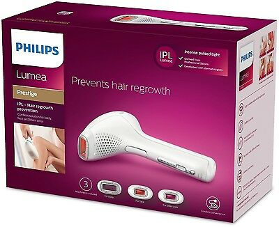 NEWEST MODEL Philips Lumea PRESTIGE IPL SC2009/00 Hair Removal System NEW