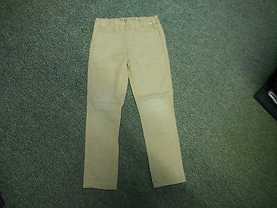 "Denim Co Slim Jeans Waist 21"" Leg 19"" Faded Sandy Beige Boys 4 - 5 Yrs Jeans"