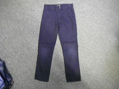 "Denim Co Slim Jeans Waist 24"" Leg 23"" Black Faded Boys 7 - 8 Yrs Jeans"
