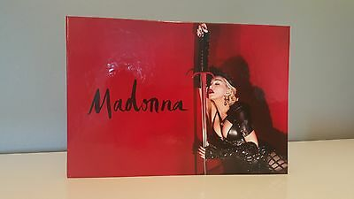 Madonna Rebel Heart Tour VIP Book w/ COA - Rare and New