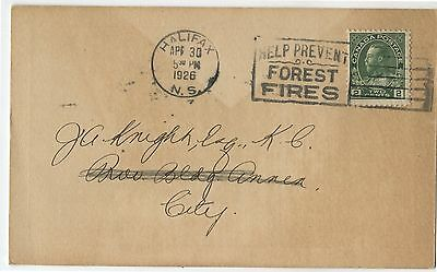 Old 1926 Advertising Postcard Review Publishing Co Halifax NS