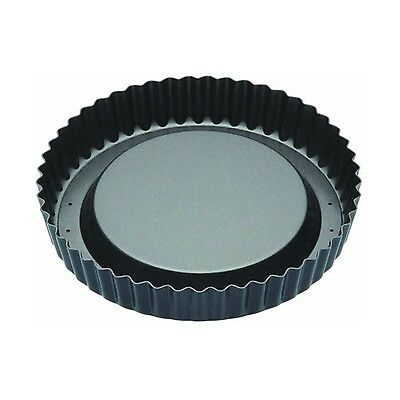 """Master Class Non-Stick Raised Fluted Sponge Flan Tin With Loose Base 20 cm (8"""")"""