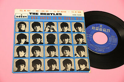 Beatles Ep Tell Me Why 4 Canzni Orig Spagna '60