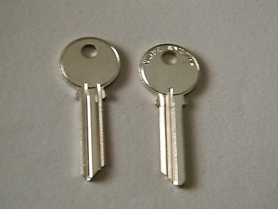 2 National CompX  Commercial Mailbox Key Blanks-  D4400