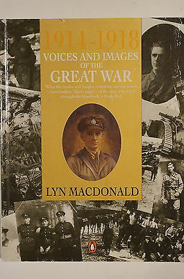 WW1 British Commonwealth Voices & Images Of The Great War 1914-18 Reference Book