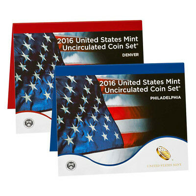 2016 United States Mint Uncirculated Coin Set (16RJ)