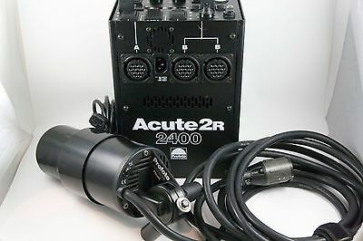 Profoto Acute2R 2400 Power Supply w/ Acute D4 Flash Head