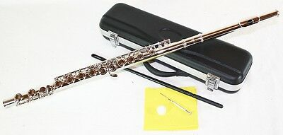New product: silver Transverse flute C with case 6456