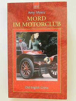 Amy Myers Mord im Motorclub Old English Crime Roman Krimi