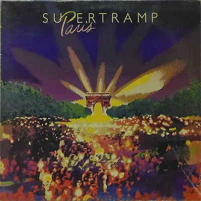 Supertramp 'paris' Uk Double Lp