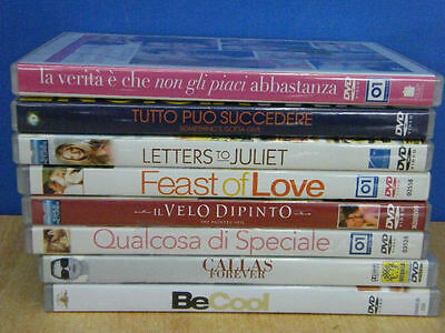 Lotto 8 Dvd Be Cool Callas Forever Letters To Juliet Il Velo Dipinto Feast Love