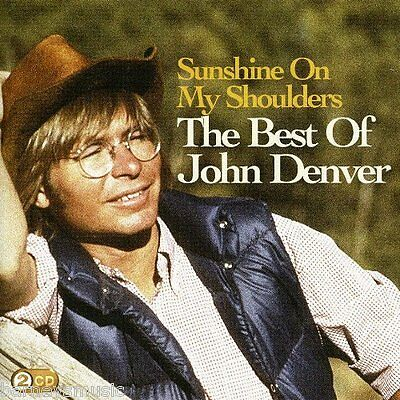 JOHN DENVER ( NEW SEALED 2 x CD ) THE VERY BEST OF / GREATEST HITS COLLECTION